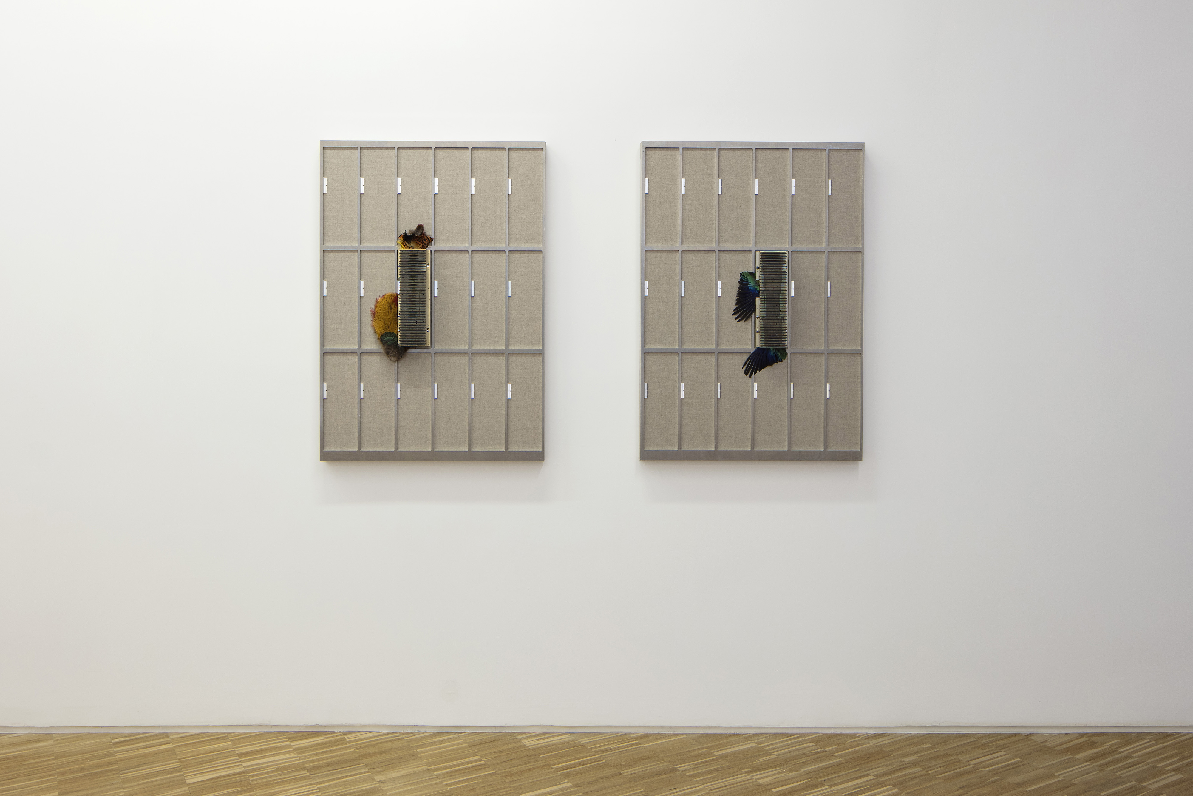 """Exhibition view of """"Questo progetto non ha un futuro"""" - 2017 - Galleria Raucci/Santamaria Napoli – 2017 – C.sy Galleria Raucci/Santamaria Napoli/Milano – Foto Amedeo Benestante Napoli"""